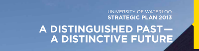 University of Waterloo Strategic Plan Header